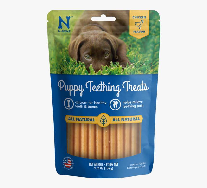 N Bone Puppy Teething Treats Chicken Flavor Dog Treats - N Bone Puppy Teething Treats, HD Png Download, Free Download