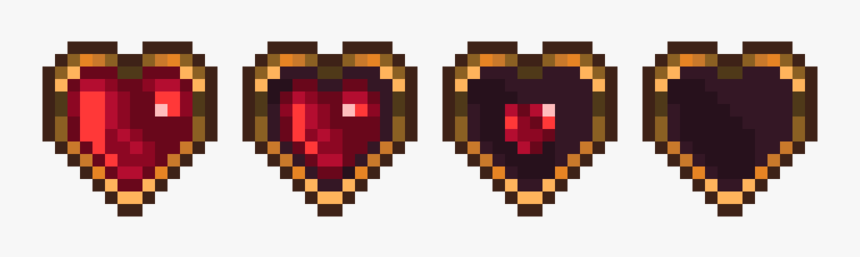 2d Pixel Hearts, HD Png Download, Free Download