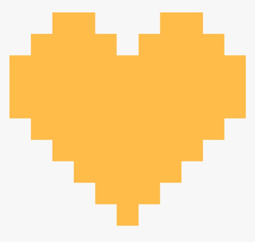 Pixel Clipart Pixel Heart - Pixel Heart Png, Transparent Png, Free Download