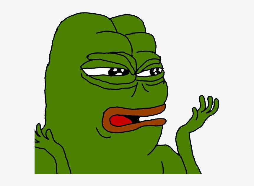 Pepe The Frog Confused Clipart , Png Download - Confused Pepe The Frog, Transparent Png, Free Download