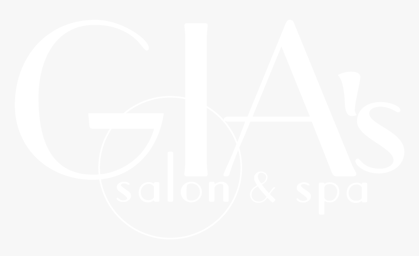"""Gia""""s Salon & Spa Logo - Gias Beauty Logos, HD Png Download, Free Download"""