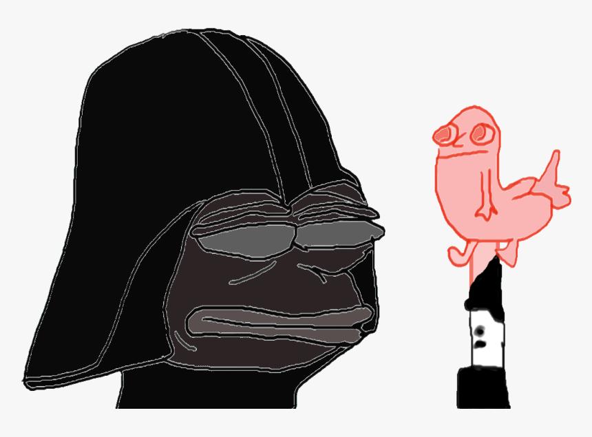 Star Wars Battlefront Anakin Skywalker R2-d2 Pink - Pepe Meme Star Wars, HD Png Download, Free Download