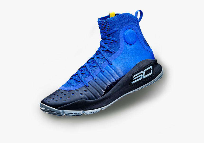 Under Armour Curry 4 Blue, HD Png Download, Free Download