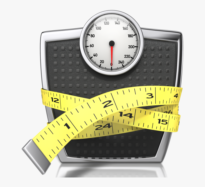Weight Loss Exercise Scale And Tape Measure Hd Png Download Kindpng