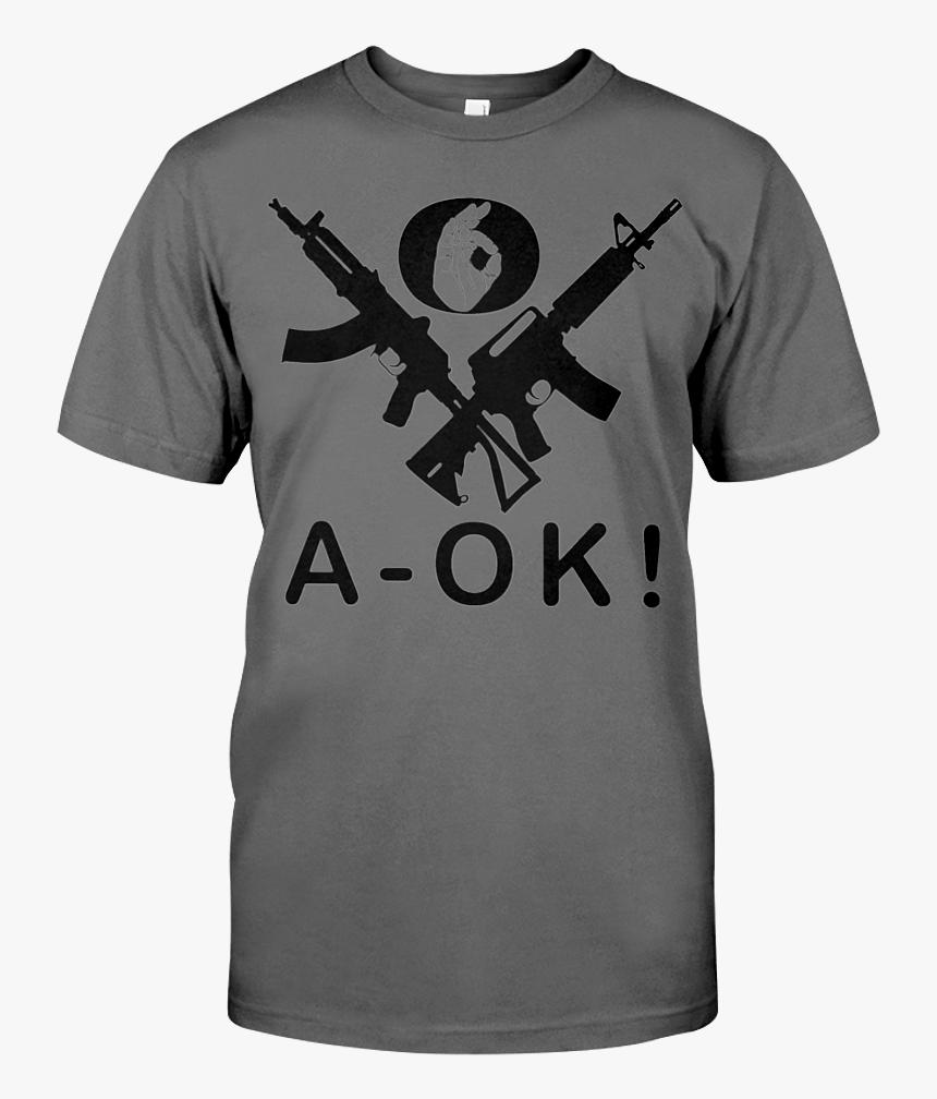 "A Ok Hand Black Rifles Men""s T Shirt - T Shirt He Man Skeletor, HD Png Download, Free Download"