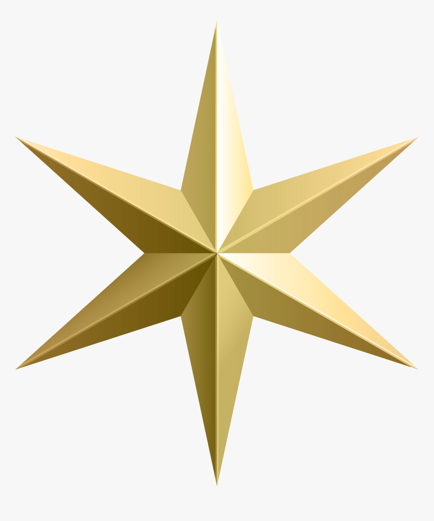 Transparent Stars Clipart On Transparent Background - Gold Star Transparent Background, HD Png Download, Free Download