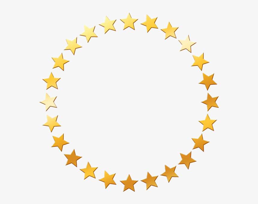Gold Star Circle Png, Transparent Png, Free Download