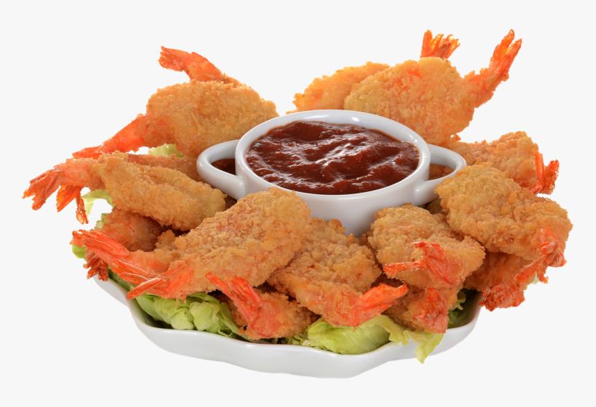 Shrimp Poppers - Crispy Fried Chicken, HD Png Download, Free Download