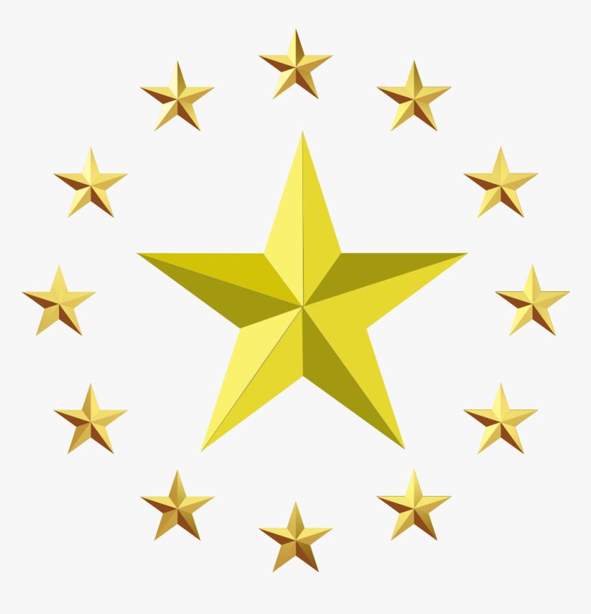 Star Europe Clip Art - Transparent Background Star Png, Png Download, Free Download