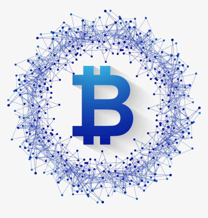 Transparent Bit Coin Png - Cryptocurrency In Blockchain, Png Download, Free Download