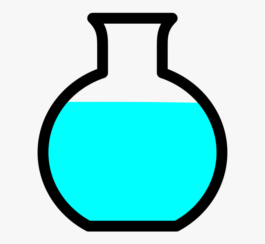 Line,laboratory Flasks,laboratory - Round Flask Clipart, HD Png Download, Free Download