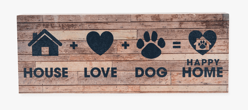 Large Pallet Box Sign - Pallet Wood Home Is Where The Dogs, HD Png Download, Free Download
