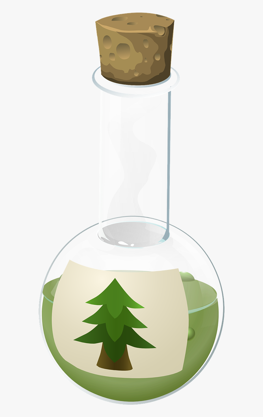 Flask Glass Beaker - Potion Poison Transparent Background Real, HD Png Download, Free Download