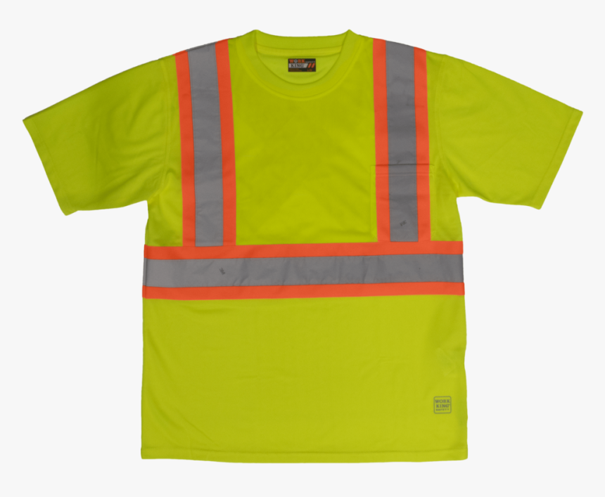 Work King Safety By Tough Duck Mens Short Sleeve T - T-shirt, HD Png Download, Free Download