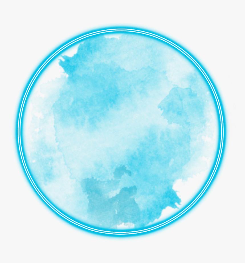 #neon #round#blue #freetoedit #circle #frame #border - Round Border Png Red, Transparent Png, Free Download