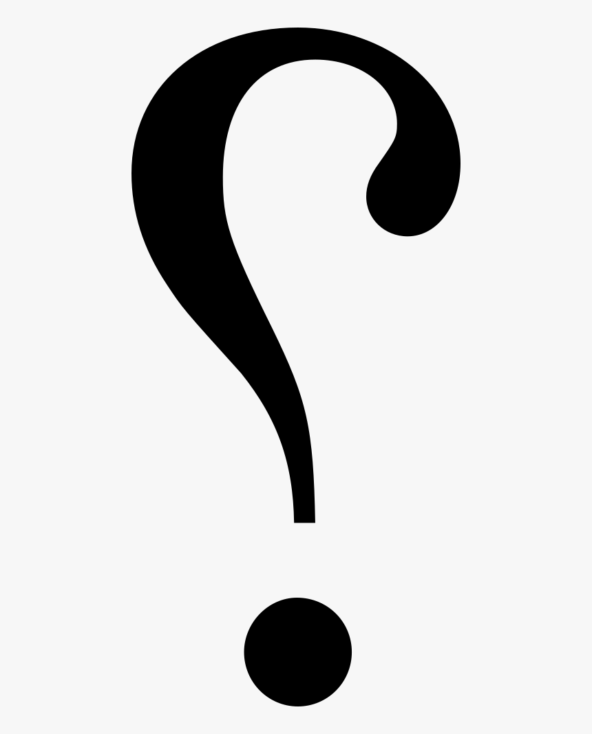 Irony Punctuation Interrobang Exclamation Mark - Backwards Question Mark, HD Png Download, Free Download