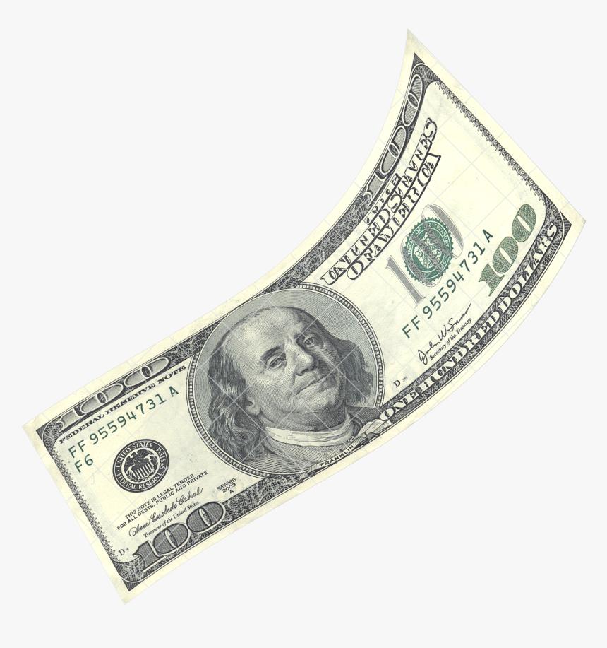 Hundred Dollar Bill Png, Transparent Png, Free Download