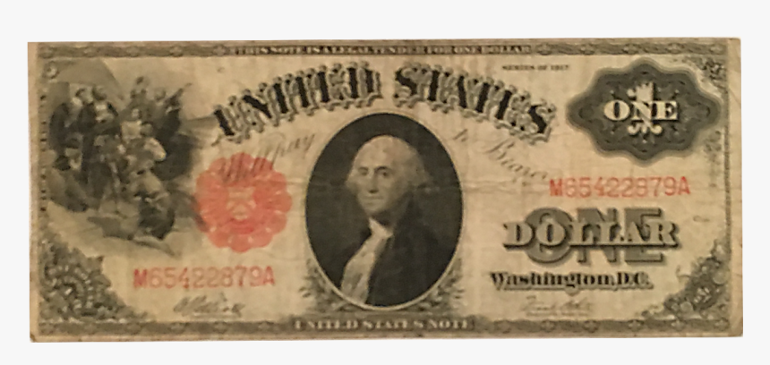 First Dollar Bill Ever Made, HD Png Download, Free Download