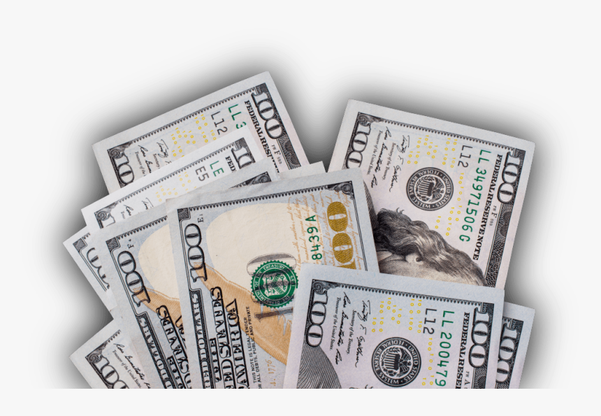 Transparent 100 Dollar Bill Png - New 100 Dollar Bill Transparent, Png Download, Free Download