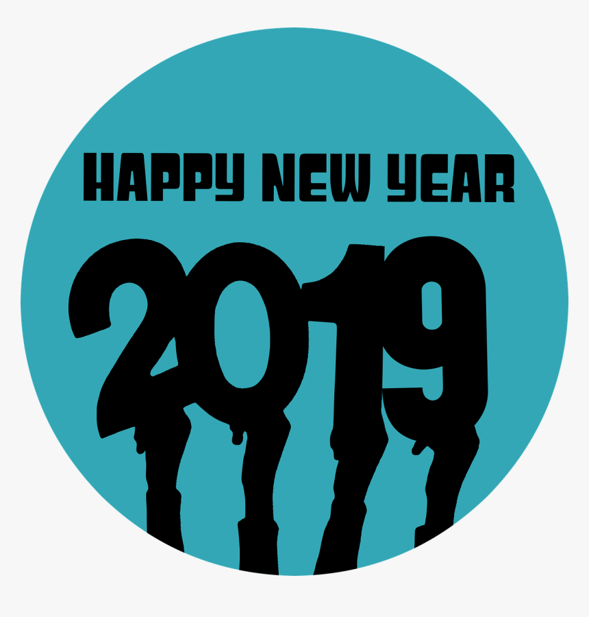 New Year Whatsapp Dp 2019, HD Png Download, Free Download