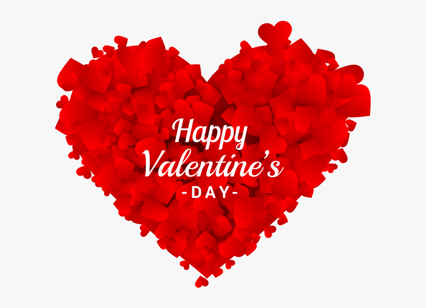 """Happy Valentine""""s Day Heart Png Image Free Download - Happy Valentines Day Heart Png, Transparent Png, Free Download"""