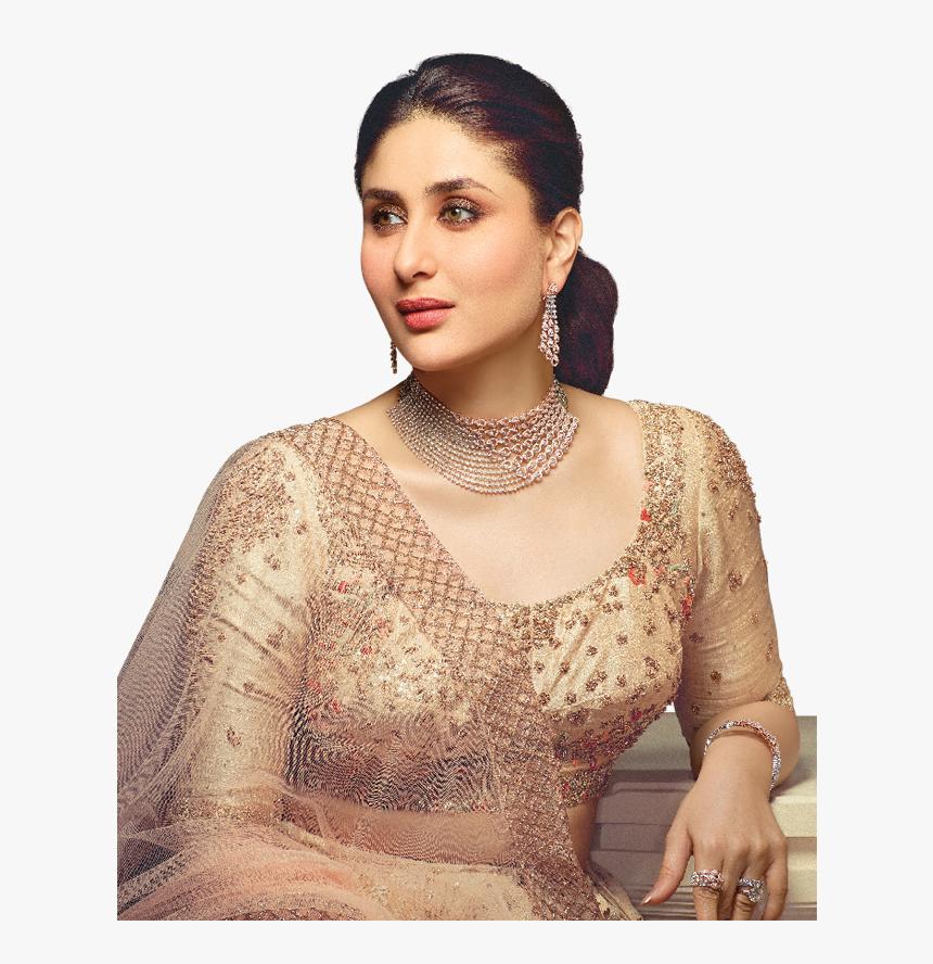 Kareena Kapoor Wearing Malabar Gold Diamond Necklace, HD Png Download, Free Download