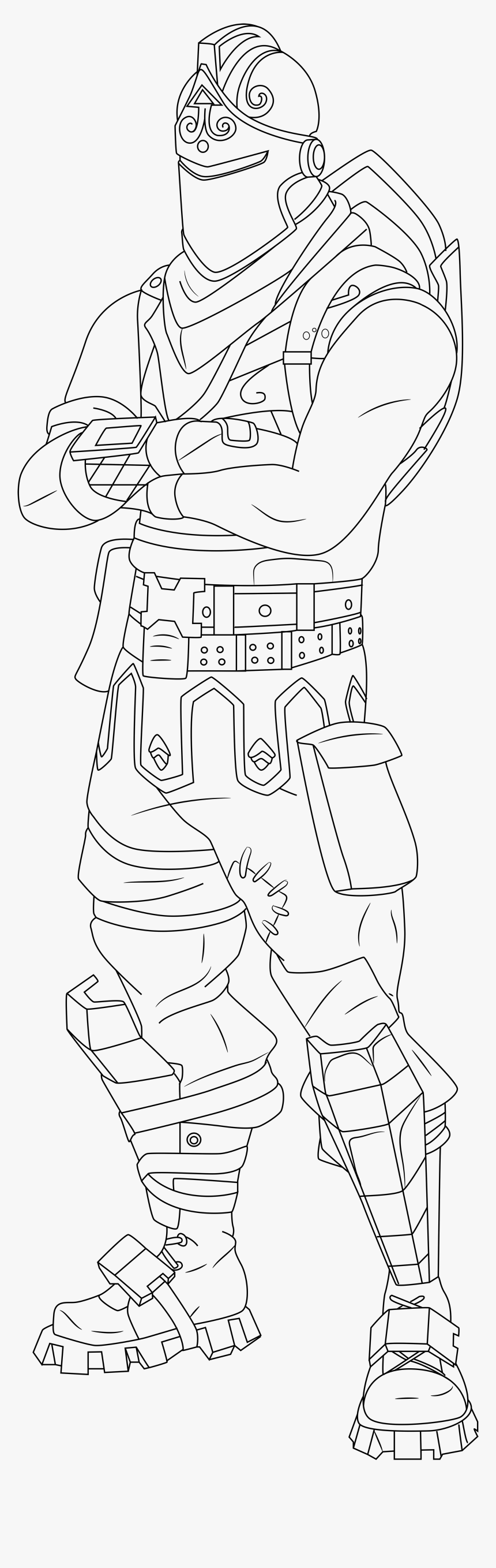 Fortnite Coloring Pages Printable Hd Png Download Kindpng