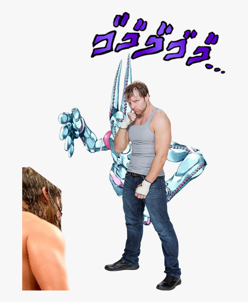 Dean Ambrose And His 「 S T A N D O 」 - T Shirts Roblox Jojo, HD Png Download, Free Download