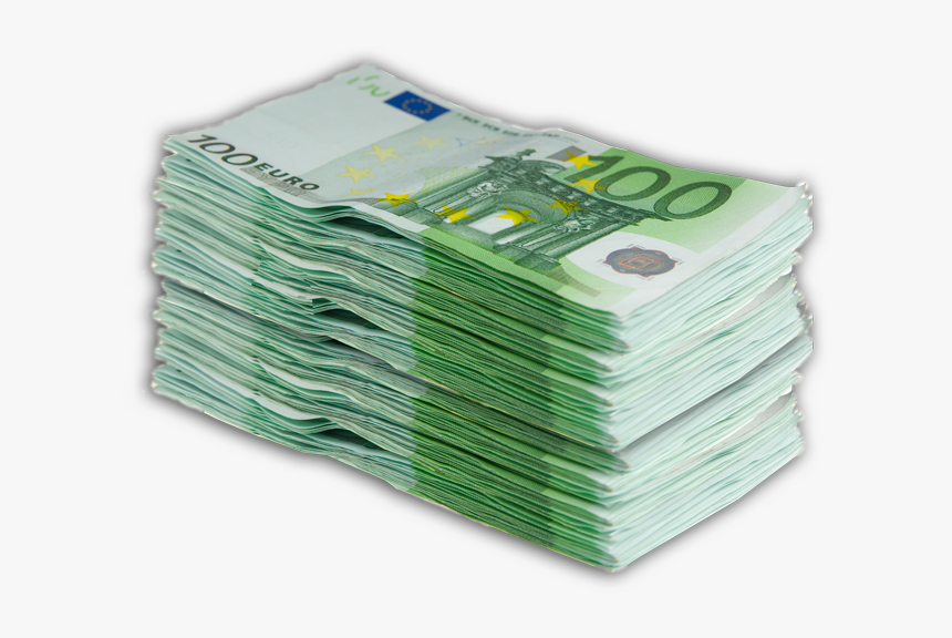 Money Euro Gold Banknote United States Dollar - Stack Euro Money Png, Transparent Png, Free Download