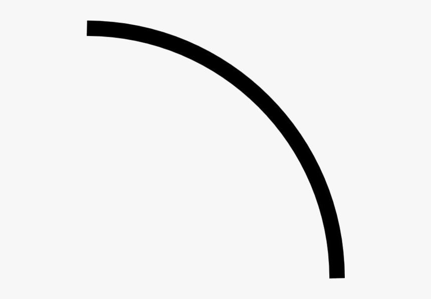 Curved Line Png Transparent Images - Curved Line Clip Art, Png Download, Free Download