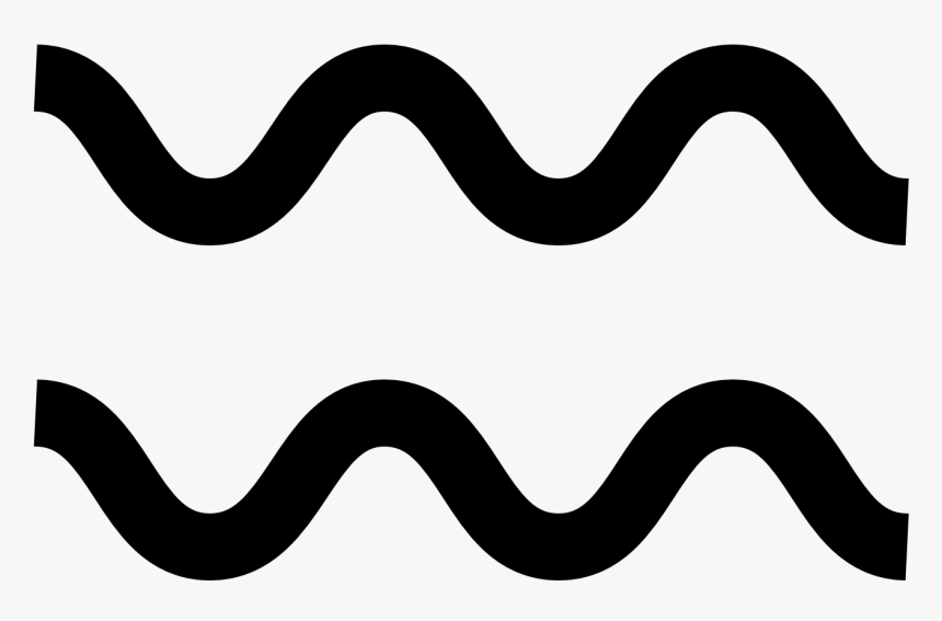 Transparent Straight Banner Clipart - Black Wavy Lines Png, Png Download, Free Download