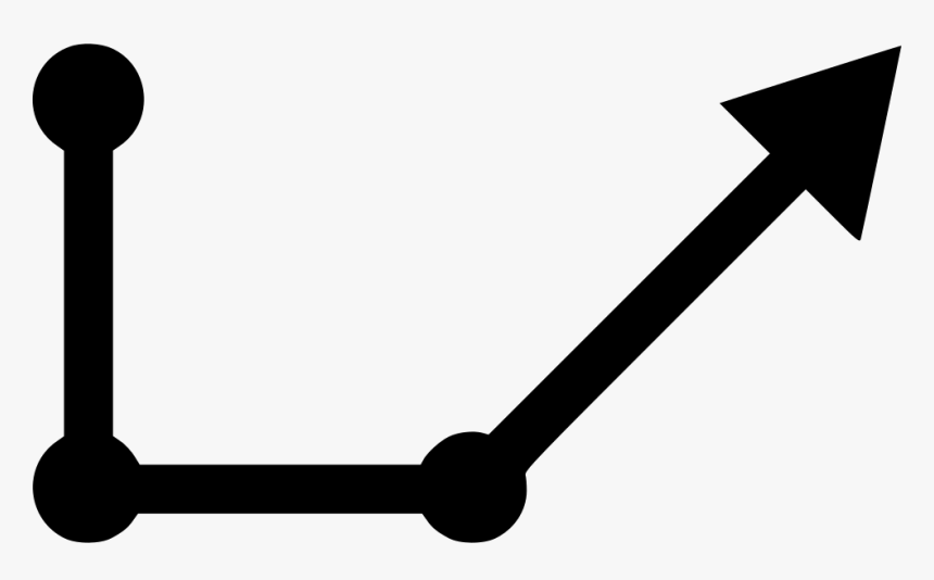 Vector Line Curve Arrow Icon Free Download Png Curved, Transparent Png, Free Download
