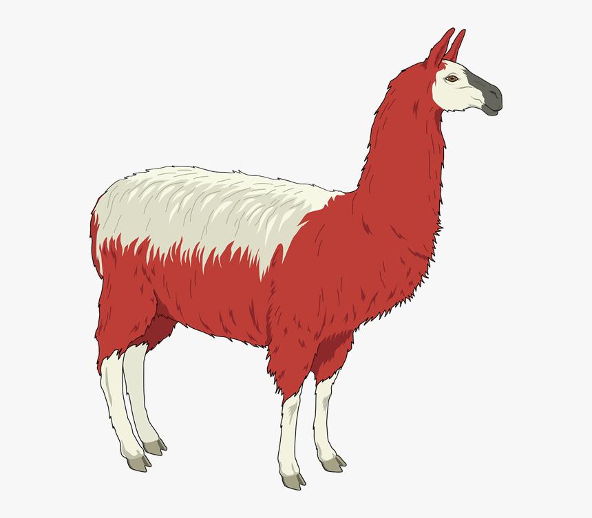 Red And White Llama Svg Clip Arts Llama Clip Art Hd Png Download Kindpng