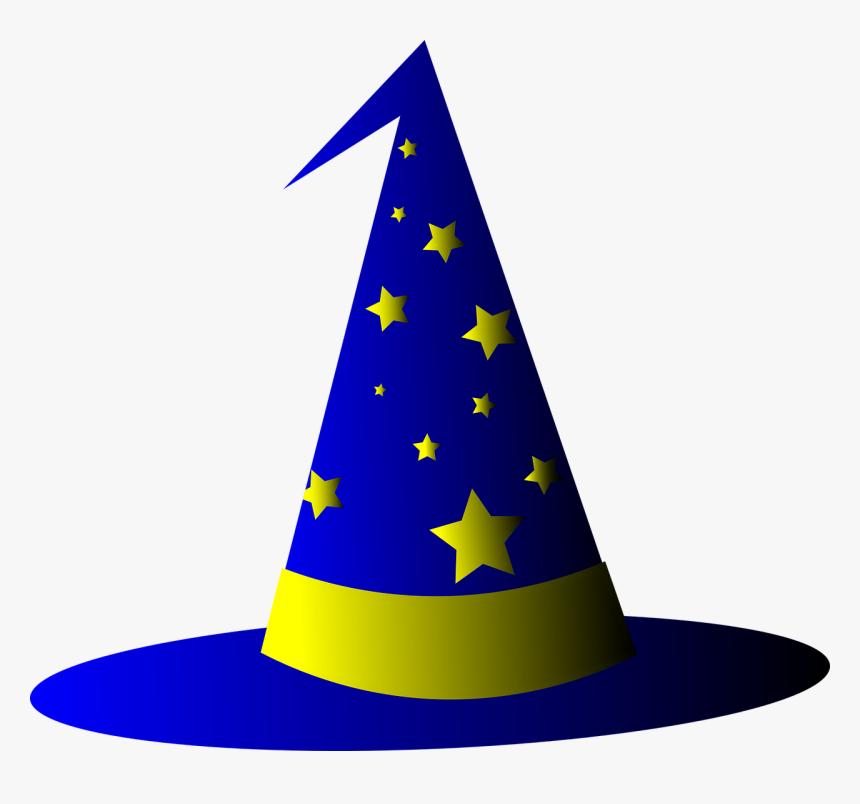 Wizard Hat, Sorcerer Hat, Magic, Wizard, Sorcerer - Wizard Hat Transparent Background, HD Png Download, Free Download