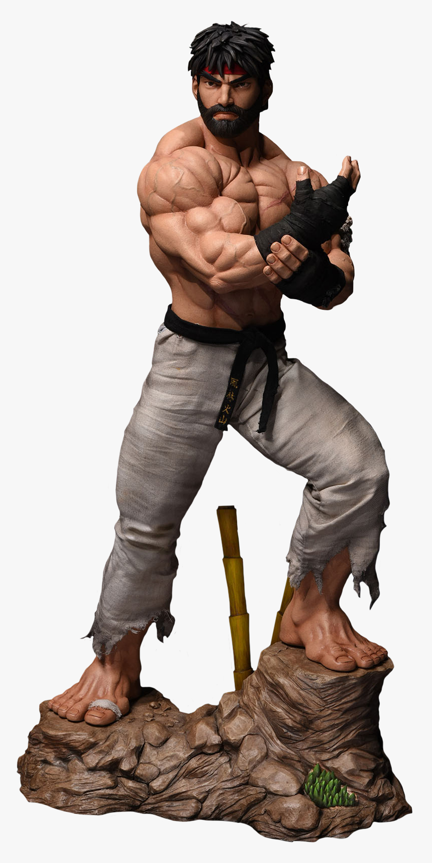 Ryu Street Fighter Statue Hd Png Download Kindpng