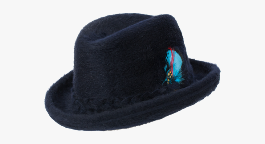 Fedora Beaver Hat Homburg - Fedora, HD Png Download, Free Download