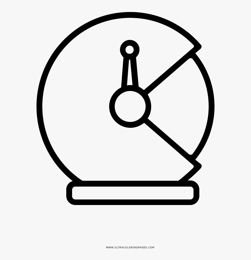 Space Helmet Coloring Page - Circle, HD Png Download, Free Download