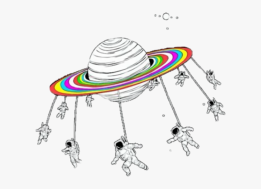 #pluto #rainbows #astronaut #helmet #stars #constellations - Stickers Png, Transparent Png, Free Download