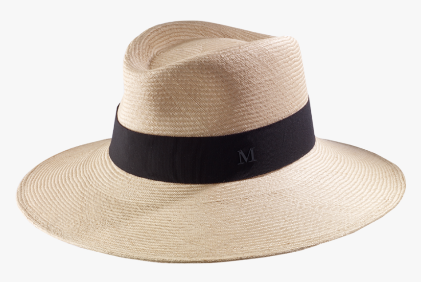 Maison Michel Straw Trilby Wide Edge Hat - Fedora, HD Png Download, Free Download