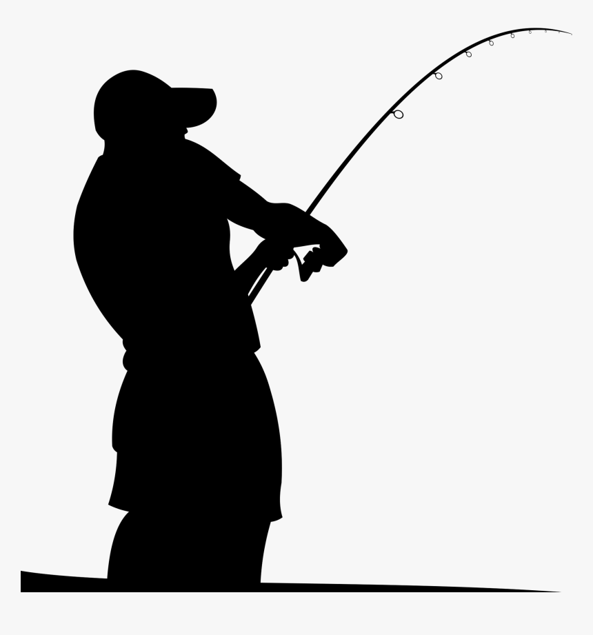 fishing rods fisherman silhouette fishing rod vector png transparent png kindpng fishing rod vector png transparent png