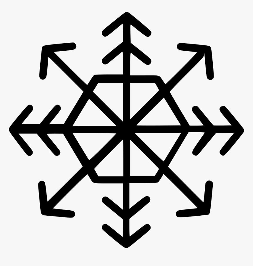 Snow Flake - Boat Steering Wheel Icon, HD Png Download, Free Download