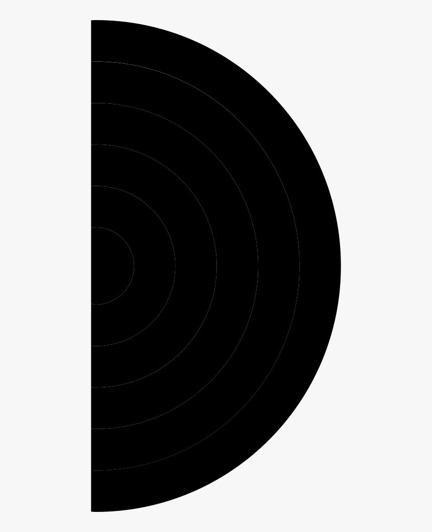 Pc Semi Circle Icon - Circle, HD Png Download, Free Download