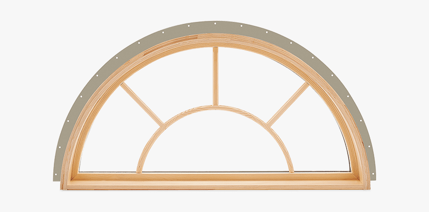 Interior View - Top Round House Windows, HD Png Download, Free Download