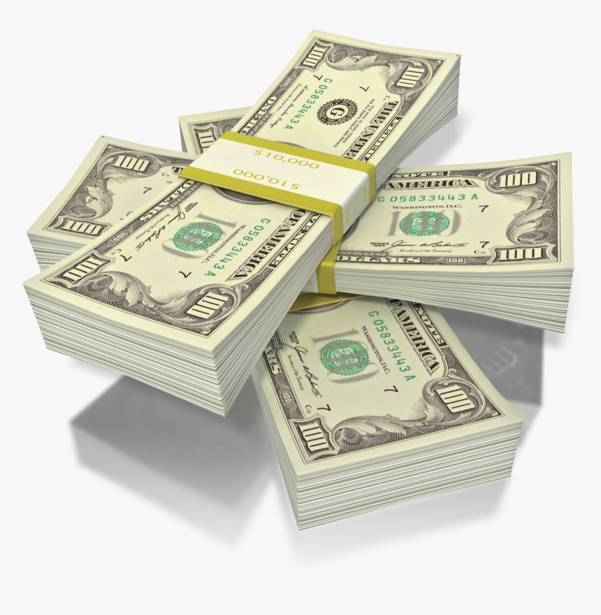 Stacks Of Money Png - Clipart Stacks Of Money, Transparent Png, Free Download
