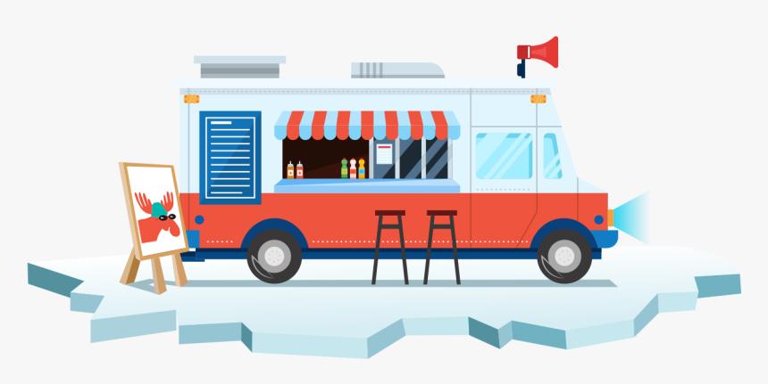 Transparent Food Truck Png - Food Truck, Png Download, Free Download