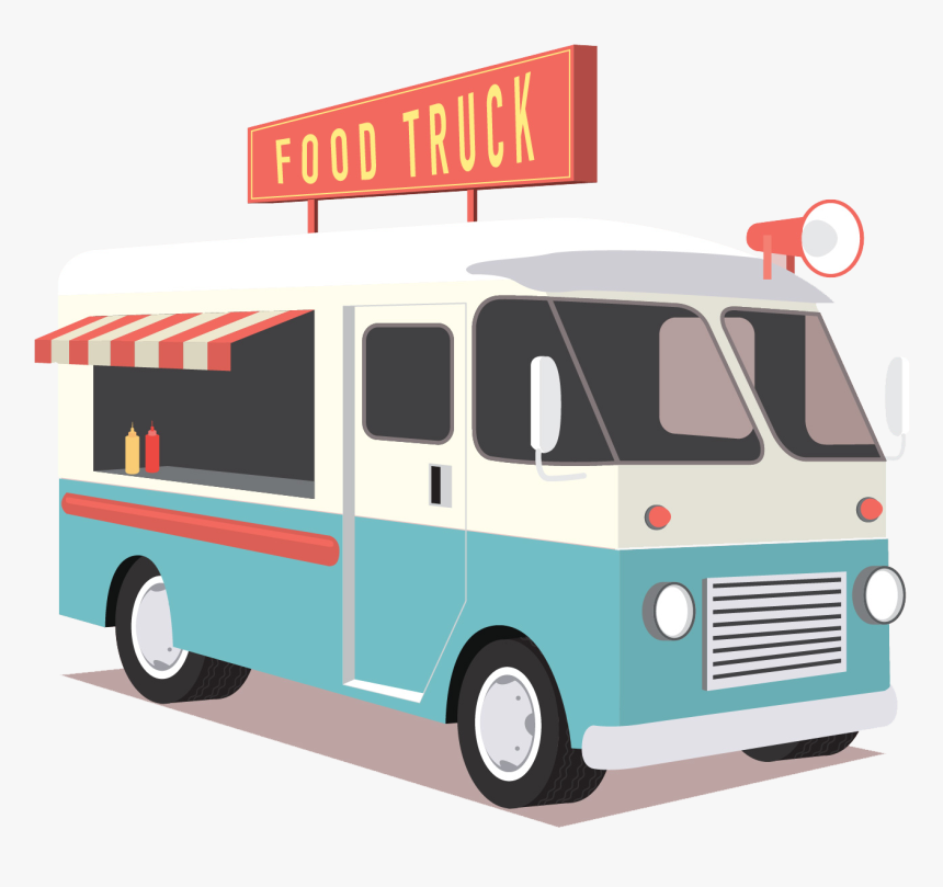 Food Truck Icon - Transparent Food Truck Png, Png Download, Free Download