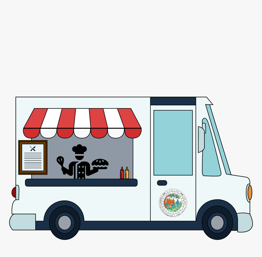 Draw A Food Truck Step, HD Png Download, Free Download