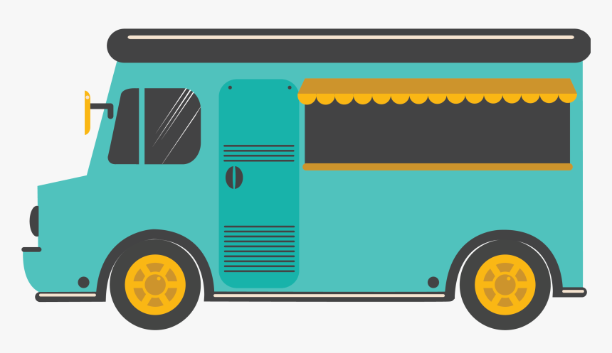 Food-truck - Street Food Truck Clipart, HD Png Download, Free Download