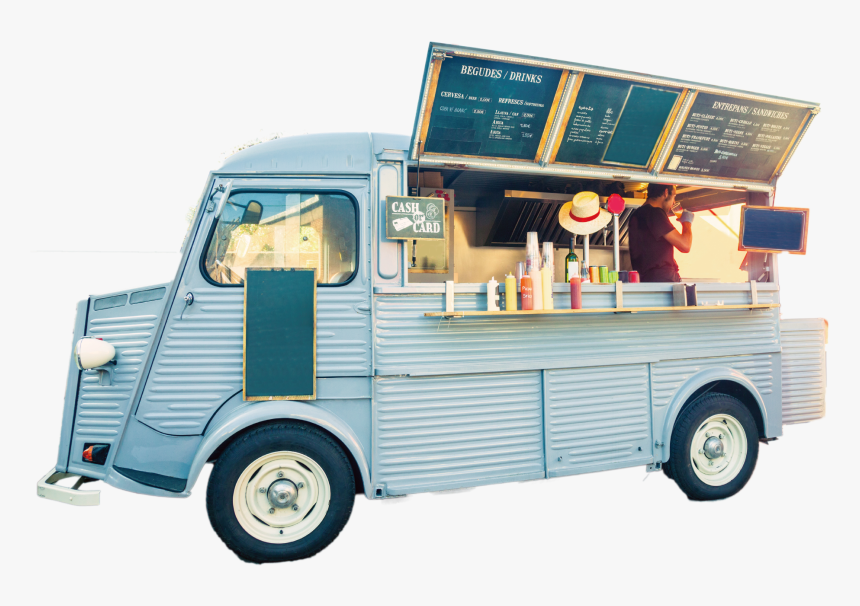 Food Truck Street Food Take-out Fast Food - Food Truck, HD Png Download, Free Download