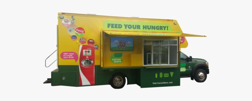 Food Truck - Model Car, HD Png Download, Free Download